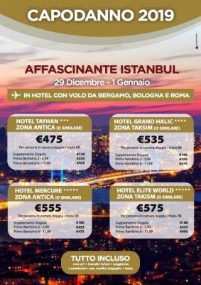 Capodanno a Istanbul 2018